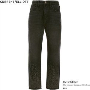Current/Elliott - The Vintage Cropped Slim Jean